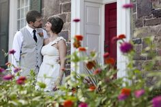 Jessica and Paul's intimate wedding and reception held at The Harvest Moon Inn in Ringoes, New Jersey.