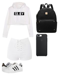 """""""Untitled #108"""" by bunnyboo407 on Polyvore featuring Topshop and adidas"""