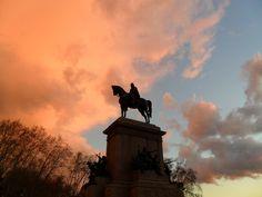 sunset in Rom