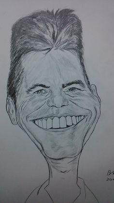 simon cowell #caricature
