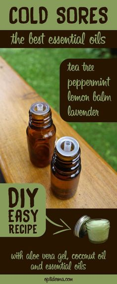 How to get rid of cold sores? Learn about essential oils and other natural treatments to prevent and treat fever blisters: http://www.optiderma.com/articles/essential-oils-for-fever-blisters/. Includes a great DIY recipe to make your own healing salve for cold sores.