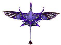 Pandora Jewelry OFF!>> Ikran Design by Techta on DeviantArt Mythical Creatures Art, Alien Creatures, Magical Creatures, Fantasy Creatures, Mystical Animals, Creature Concept Art, Creature Design, Avatar Animals, Avatar Tattoo