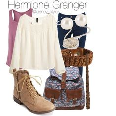 Hermione Granger Outfit I already have basically all of this in my closet.