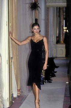 Helena Christensen - CHANEL Haute Couture Spring/Summer 1997