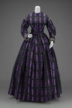 Dress    1860    The Museum of Fine Arts, Boston