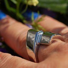 Coal Ring Tilda - rostfritt stål