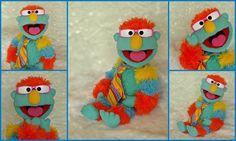 Professional Puppet Boy Jeffrey Handmade by OutofCharacterCreate