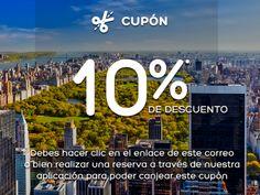 Cupón exclusivo de 10% de descuento en Hoteles.com