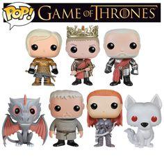 HBO divulgou os novos personagens da coleção de bonecos POP Game of Thrones | Nerdivinas