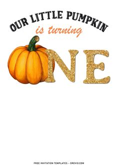 Download Now 8+ Cute Pumpkin Carving First Birthday Invitation Templates With all of the fresh pumpkins, and fall-themed wreaths and flowers, it's such a fun and relatively easy time of year to decorate. Looking for some entertaining ideas for your Autumn/Fall events...