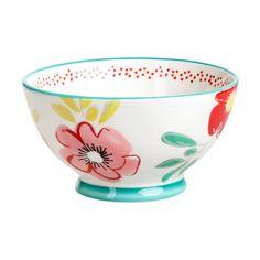 Ensaladera Cerámica Colección M - Casaideas - casaideas Pottery Painting, Ceramic Painting, Ceramic Art, Cherry Kitchen, Paper Crafts, Diy Crafts, Easy Diy Gifts, Diy Tutorial, Tea Cups