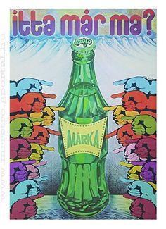 Márka üdítő 1975