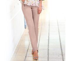 Rovné nohavice   blancheporte.sk #blancheporte #blancheporteSK #blancheporte_sk #novákolekcia #jar #leto Capri Pants, Suits, Spring, Fashion, Elegance Fashion, Moda, Capri Trousers, Fashion Styles, Suit