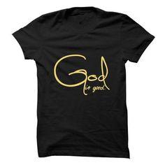 God Is Good Black - #birthday gift #monogrammed gift. OBTAIN => https://www.sunfrog.com/Faith/God-Is-Good-Black.html?68278
