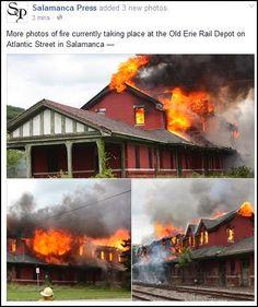 salamanca depot fire