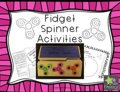 Harness the energy of the fidget spinner craze!