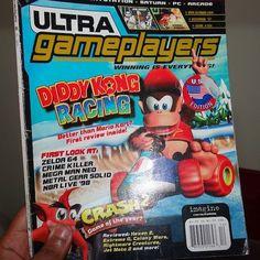 Ultra Gameplayer #magazine dic 97 #videogames #magazine #vintage