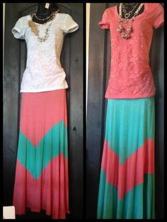 So STYLISH for Spring!    Maxi Skirts $29.99  Lace Tops $9.99    Call to order: (801) 739-3555