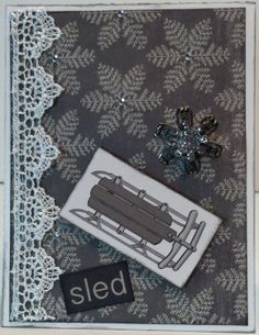 The Paper Loft winter card