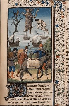 The Hague, MMW, 10 A 11 fol. 197r Book 4, 11 Mercury as patron of travellers and protector against diseases