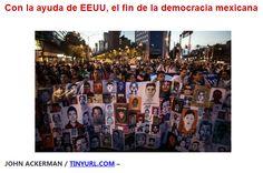De la mano de EEUU, México avanza hacia la guerra sucia contra el pueblo y el autogolpe