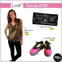 Para hoy te proponemos un #look único, bien de tendencia. ¿Te gusta?  Encontrá tus prendas favoritas en www.tiendadcm.com