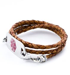 Pretty awesome, no more ugly chain! Lasso Medical ID Wrap Bracelet