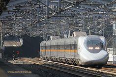 山陽新幹線 700系レールスター  新岩国(山口県)