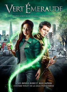 Das französische Filmcover von Smaragdgrün!
