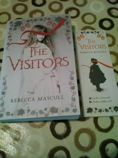 "Ceri received hers as a winner of a giveaway: ""Look at this beauty, the cover is stunning and some lovely bookmarks, thanks @rebeccamascull xx"""