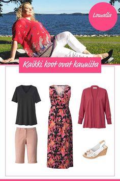 Blogissamme vinkit pluskokojen kesävaatteisiin Elegant, Polyvore, Image, Beautiful, Fashion, Classy, Moda, Chic, La Mode