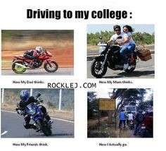 Reality of Driving to College
