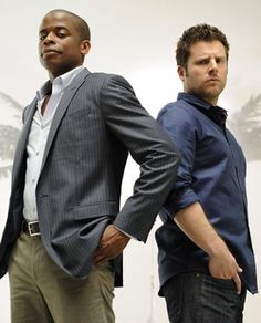 Dule Hill & James Roday  - Psych