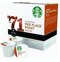 Starbucks K-Cups Coffee for Keurig Home Brewers