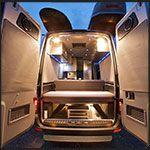 A ton of fantastic Sprinter van floor plans with photos.