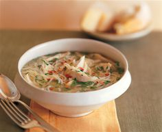 Capellini Soup with Rich Chicken Brodo Capellini, Fall Is Coming, Bowl Of Soup, Chowders, Cheeseburger Chowder, Stew, Soups, Chicken Recipes, Meals