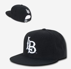 1f199a185ad47 Black Cal State University Long Beach 49ers CSULB NCAA Snapback Baseball  Cap Hat  WRepublic