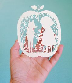 Paper cutting art is so freaking cool Diy Paper, Paper Art, Paper Crafts, Diy Crafts, Origami, Up Book, Book Art, Paper Cutting, Red Riding Hood
