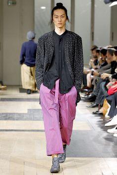 Yohji Yamamoto Spring 2012 Menswear Fashion Show