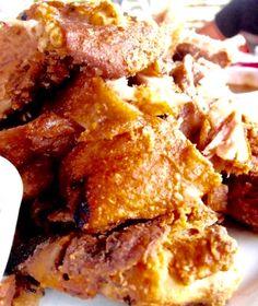 FollowMeToEatLa food trip to Sungai Janggut in Kapar Selangor - Sungai Janggut Seafood Restaurant - German Pork Knuckles