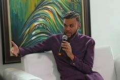 WELCOME TO ROCKIE'S BLOG:   Nigerian-American singer, Jidenna at the Vibe.NG...