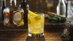 Add a little spice to your cocktail with this Spicy Buck cocktail recipe!   Presented by Casa Noble Tequila.