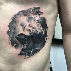 #wolftattoo @_duchy_ Thank you   Artist: @yadou_tattoo
