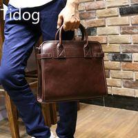 Tidog The new male Korean Fashion Handbag Shoulder Bag Satchel Metrosexual tide simple briefcase bag