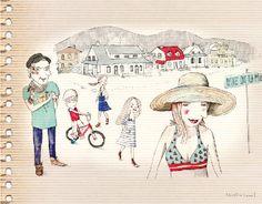 Caroline Hamel_illustration Graphic, Montreal, Illustration, Camel, Animals, Design, Animaux, Illustrations, Camels