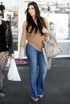 Kim Kardashian Casual Clothes