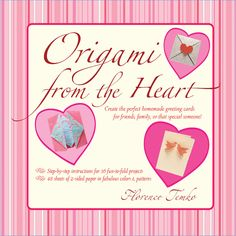 Use the art of origami to craft and create unique, personalized greeting cards from the heart! Perfect for those tired of sending dull, commercially produced cards, Origami from the Heart Kit will help you wow that special someone with a handmade card just for them.