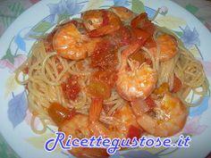 Spaghetti alle mazzancolle -