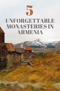 5 Unforgettable Monasteries in Armenia | Western Asia Travel | Geghard Monastery | Noravank Monastery | Tatev Monastery | Sevanavank Monastery | Sanahin Monastery | What To Do In Armenia