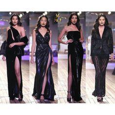 #VogueWeddingShow2015 #monishajaisingwoman #monishajaisingbride #IndiaCoutureWeek #Noir #black #blackisthenewblack #velvet #liquid #gowns #TheSailingBride #Metallicfever